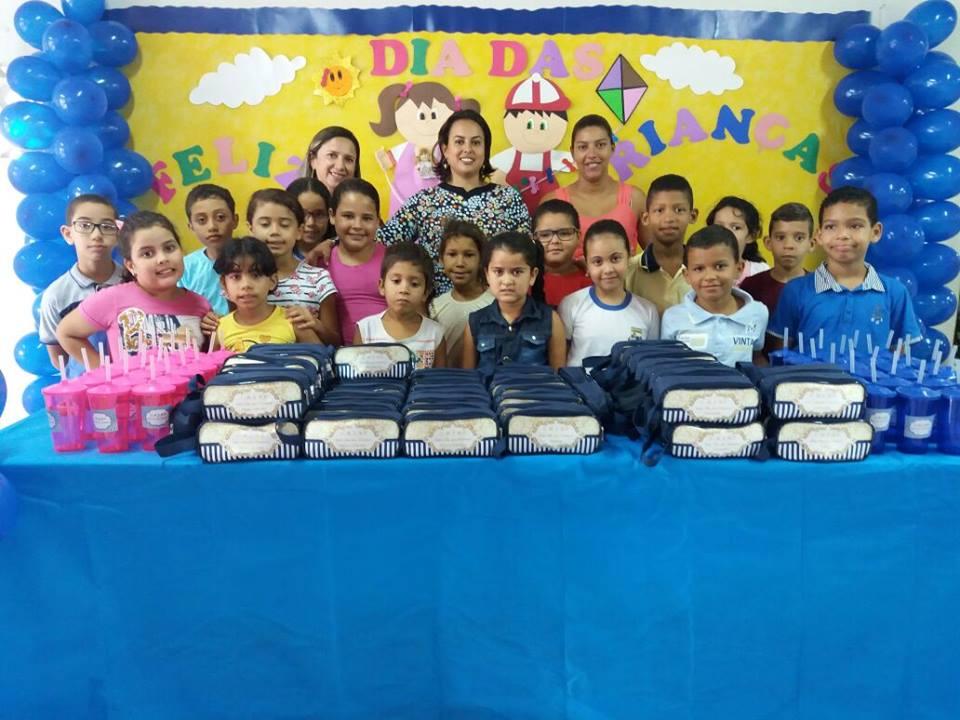 Festa das crianças da Escola João Batista, Arisco dos Pires.