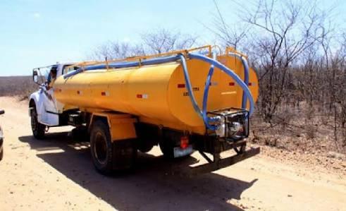 Contratação de carro-pipa para abastecer as comunidades
