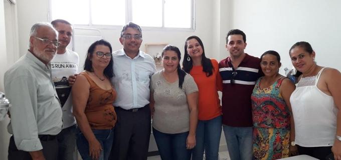 Inauguração da UBS – Unidade Básica de Saúde no Conjunto Habitacional Cenira Maria de Souza