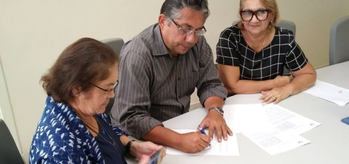 O Município de Jundiá firmou Termo de cooperação técnica