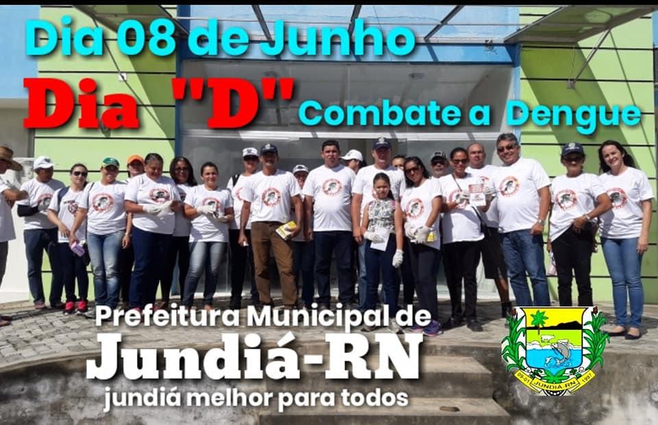 """Dia 08 de Junho, dia """"D"""" combate a Dengue"""