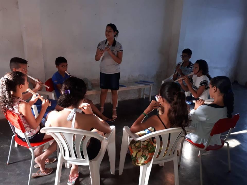 Prefeitura Municipal apoiando o Serviço de Convivência e Fortalecimento de Vínculos.