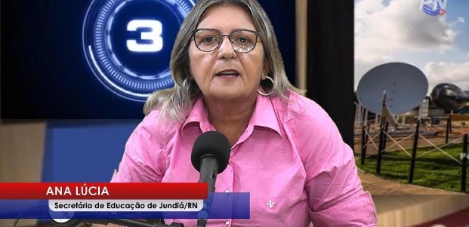 Secretária de educação do município de Jundiá, foi entrevistada nesta sexta-feira (07) durante o Jornal Potiguar Notícias.