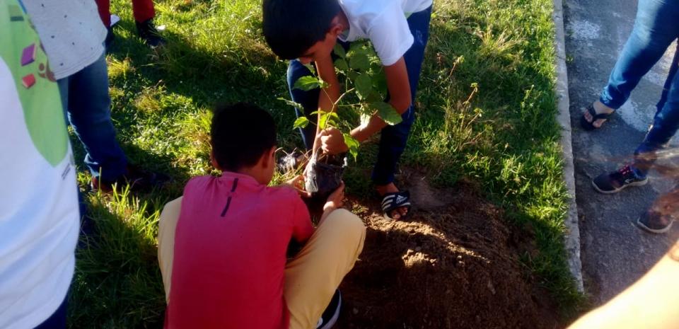 Prefeitura de Jundiá através da Secretaria de Educação e Meio Ambiente realizam Semana do Meio Ambiente.