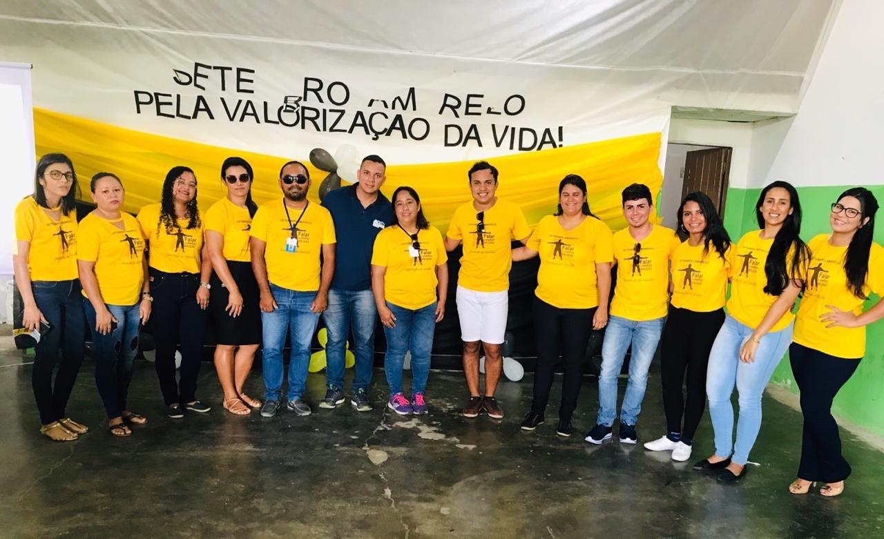Setembro amarelo: Caminhada de prevenção do suicídio.