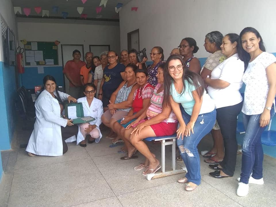 Profissionais do NASF, realizam mais um encontro do Grupo Hiperdia.