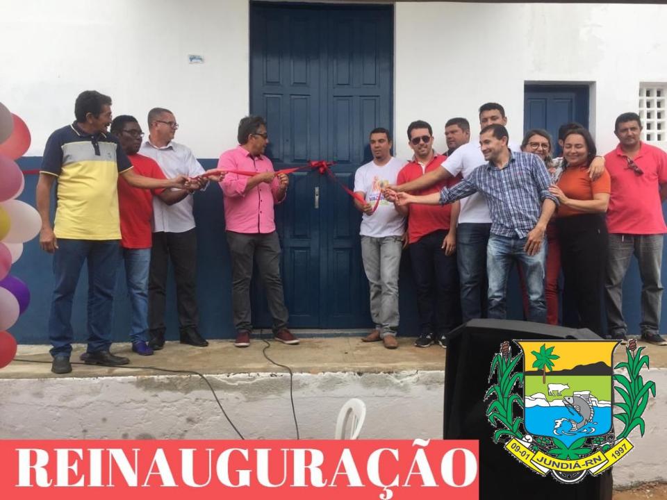 A Prefeitura através da Secretaria de Obras reinaugurou o Abatedouro Público Municipal.