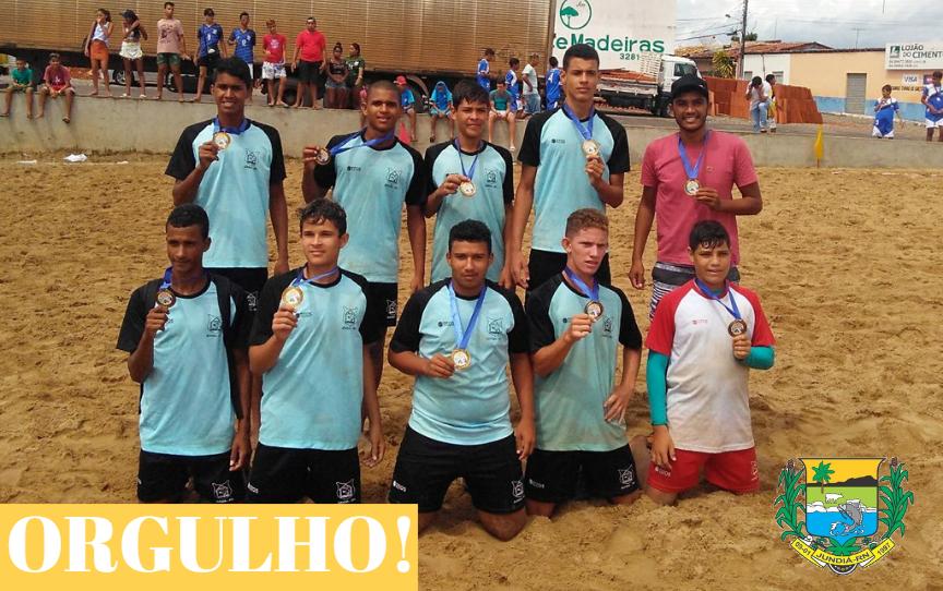 A Prefeitura através da  Educação, parabeniza a Escola Paulino Francisco de Souza pelo 3º Lugar no JERNs
