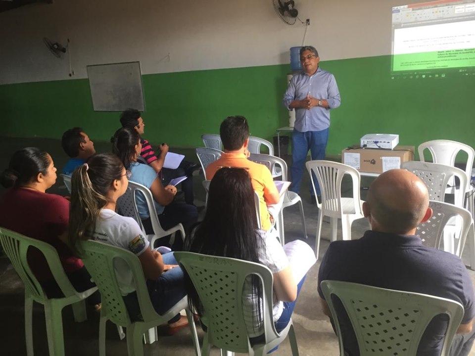 Secretaria de Educação realiza audiência da Proprosta do Projeto de Lei de Incentivo a Cultura.