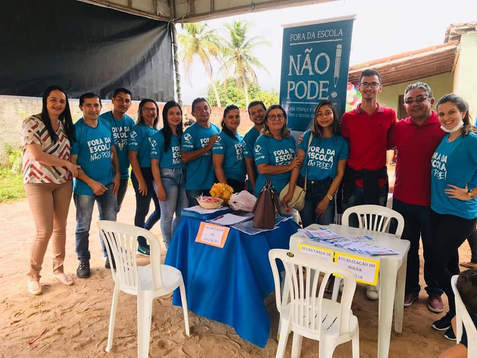A Prefeitura esteve na Comunidade Jundiá dos Moreira, realizando mais um encontro do Projeto Social Mãos do Bem.