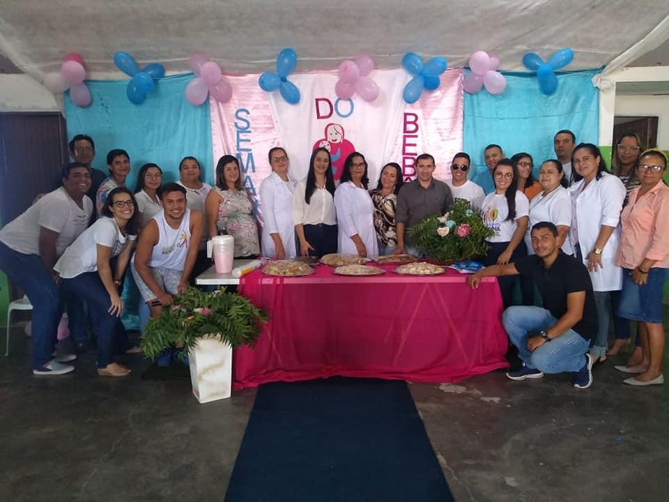 Secretaria Municipal de Saúde realizam a 1°Semana do Bebê.