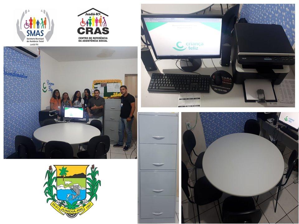 A Prefeitura de Jundiá entregou novos equipamentos e mobiliário para o Programa Criança Feliz.