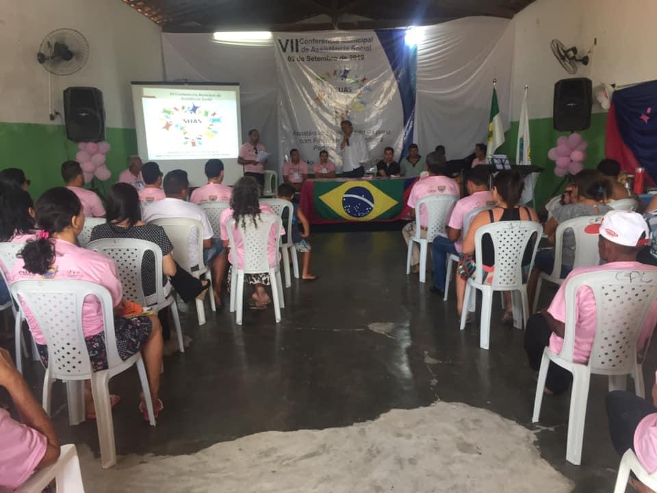 Realizada a VIIª Conferência Municipal de Assistência Social.