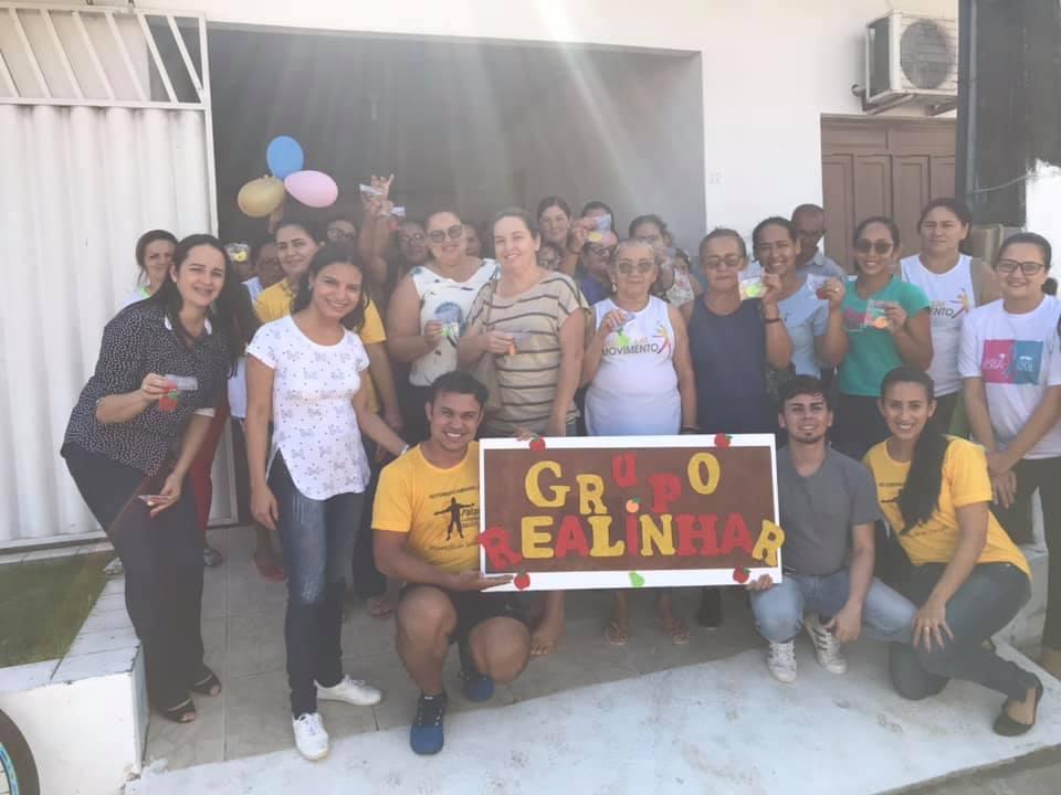 Os profissionais do NASF, realizaram o primeiro encontro do Grupo Realinhar.