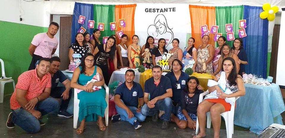 Assistência Social realizou o encerramento das atividades de mais um Grupo de Gestantes.