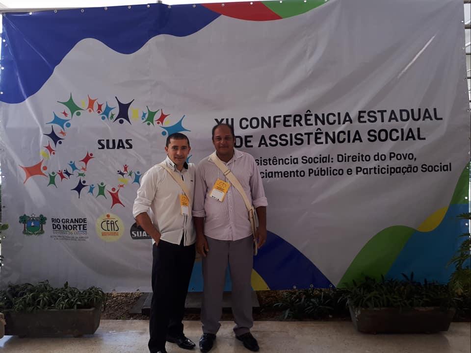 Jundiá presente na XII Conferência Estadual de Assistência Social.