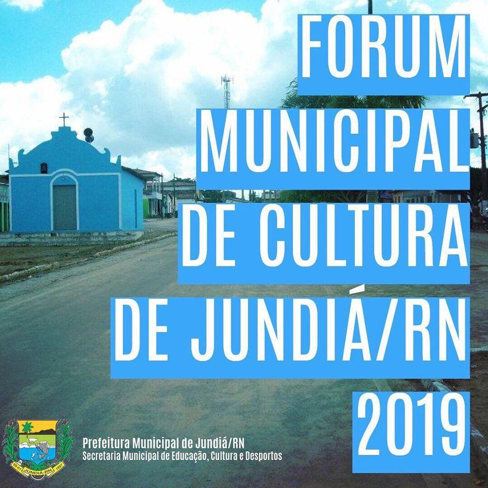 Fórum Municipal de Cultura será realizado amanhã, 30 de Outubro de 2019.