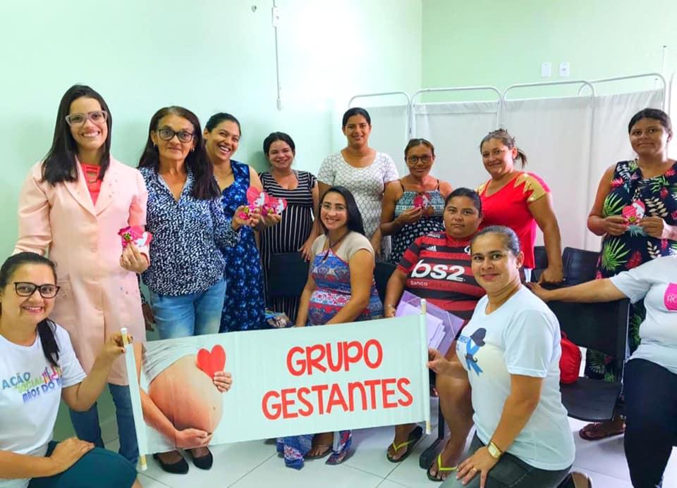 Equipe da saúde  de Jundiá realiza acompanhamento a gestantes.