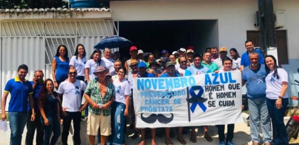 Secretaria Municipal de Saúde promoveu ação da campanha Novembro Azul.