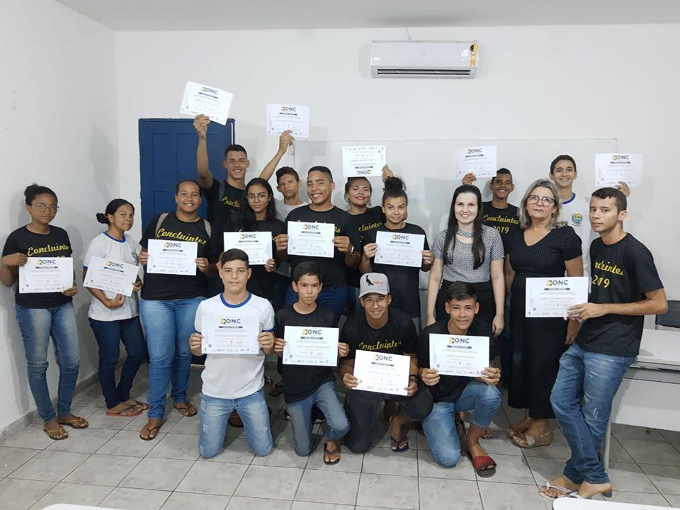 Educação entrega Certificados de Participação da Olimpíada Nacional de Ciências 2019.