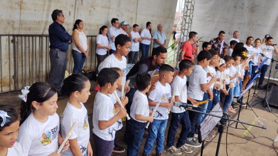 Grupo de Música do CRAS/Jundiá.
