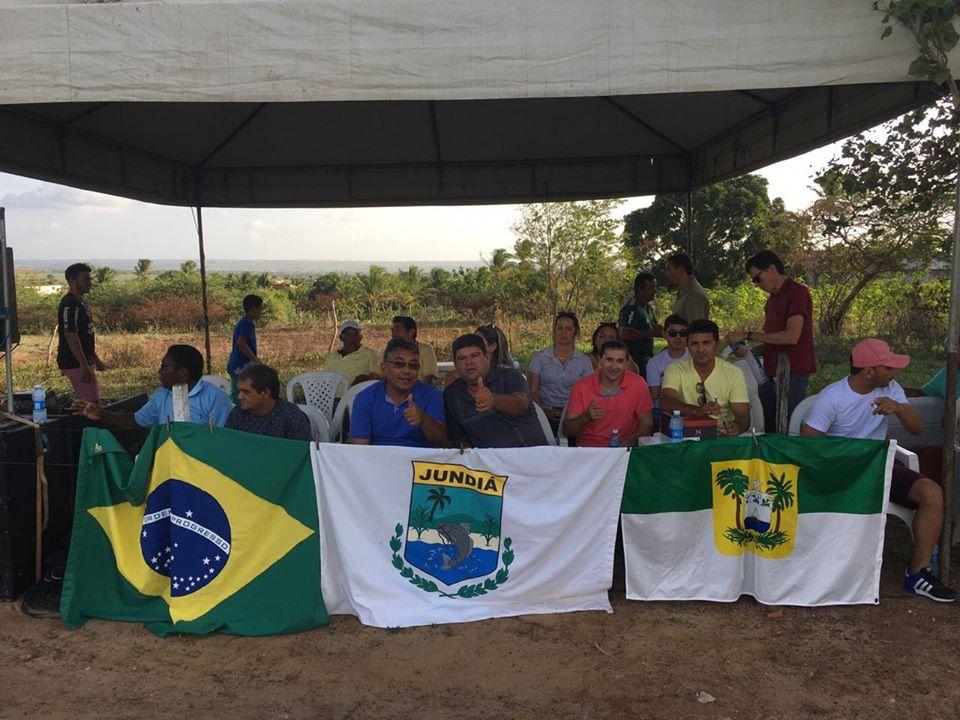 Final do 5º Campeonato Municipal de Futebol.  Campeã: Internacional de Lajedo Grande.