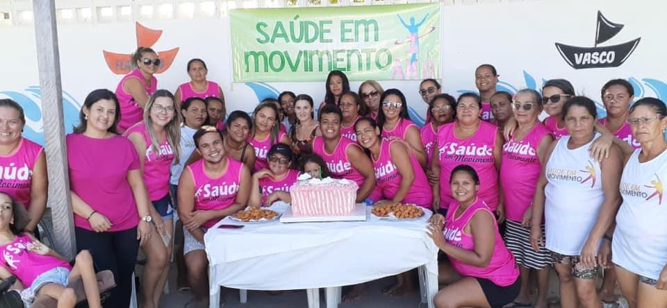 A Secretaria Municipal de Saúde abraça o Projeto do Grupo Saúde em Movimento.