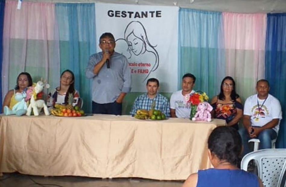 A Prefeitura realiza a abertura do Grupo de Gestante 2020.1.