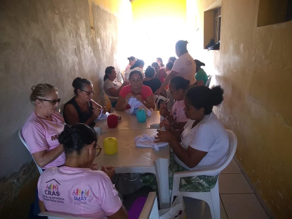Abertura da segunda etapa do grupo 'Mulheres em Ação' do PAIF/CRAS.