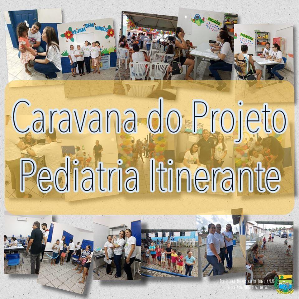 "Caravana do Projeto ""Pediatria Itinerante""."