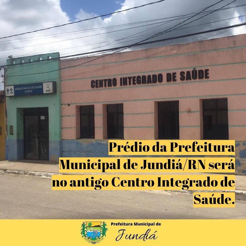 Prefeitura passará ser no antigo prédio do Centro Integrado de Saúde.