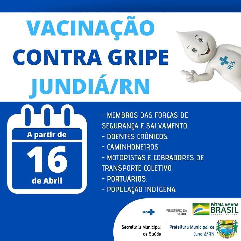 Prefeitura dá inicio a nova etapa de vacinação.