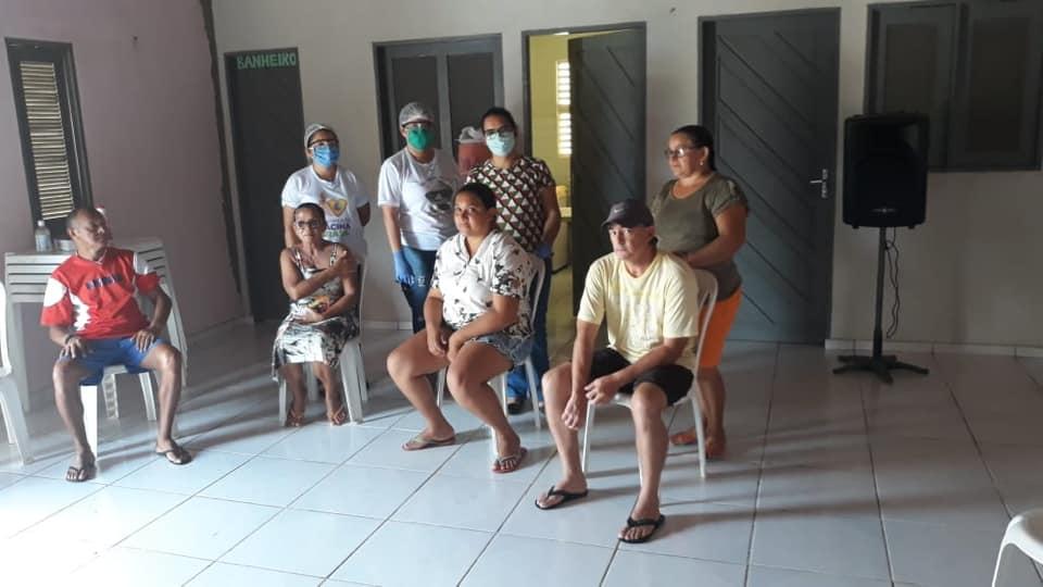 Secretaria de saúde vacina gupos prioritários de Caieiras.