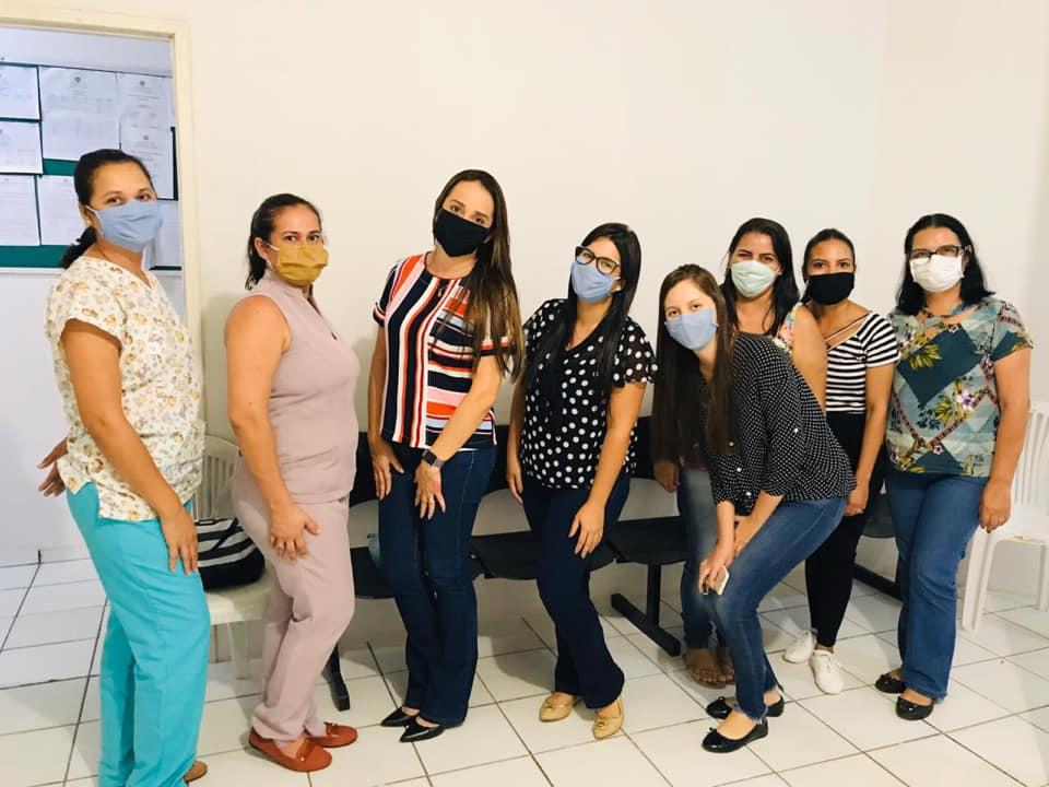Equipe Técnica da Saúde, se reune para preparar estratégias de enfrentamento ao COVID-19.
