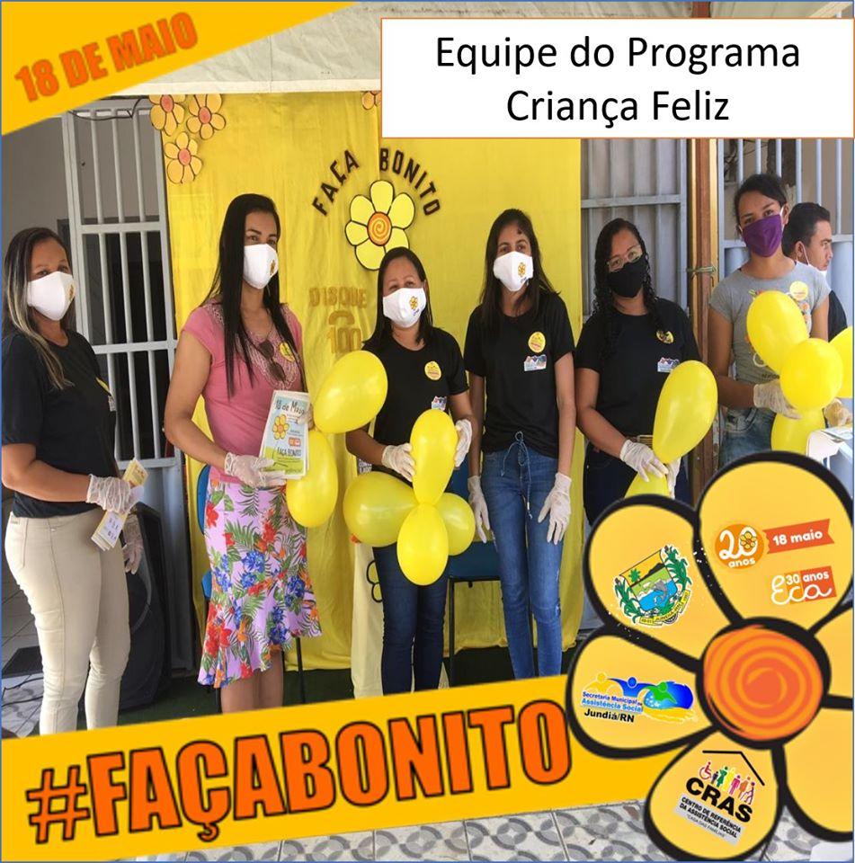 Secretaria de Assistencia social realiza encerramento da campanha FAÇA BONITO.
