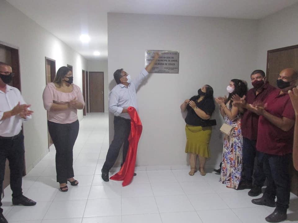 Inauguração da Sede da Prefeitura Municipal de Jundiá/RN