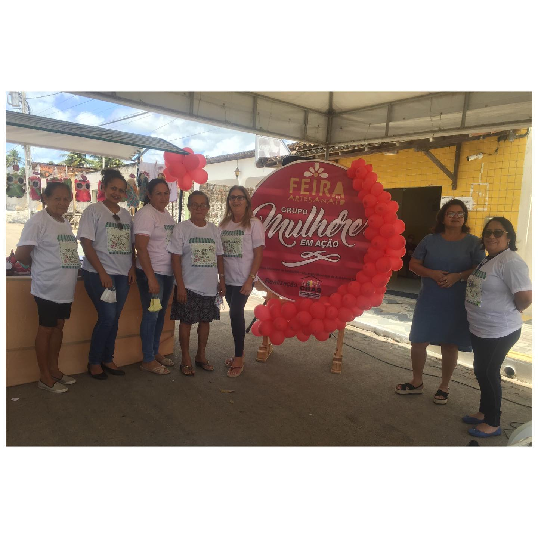 IIª Feira de Artesanato do Grupo Mulheres em Ação do CRAS/Assistência Social