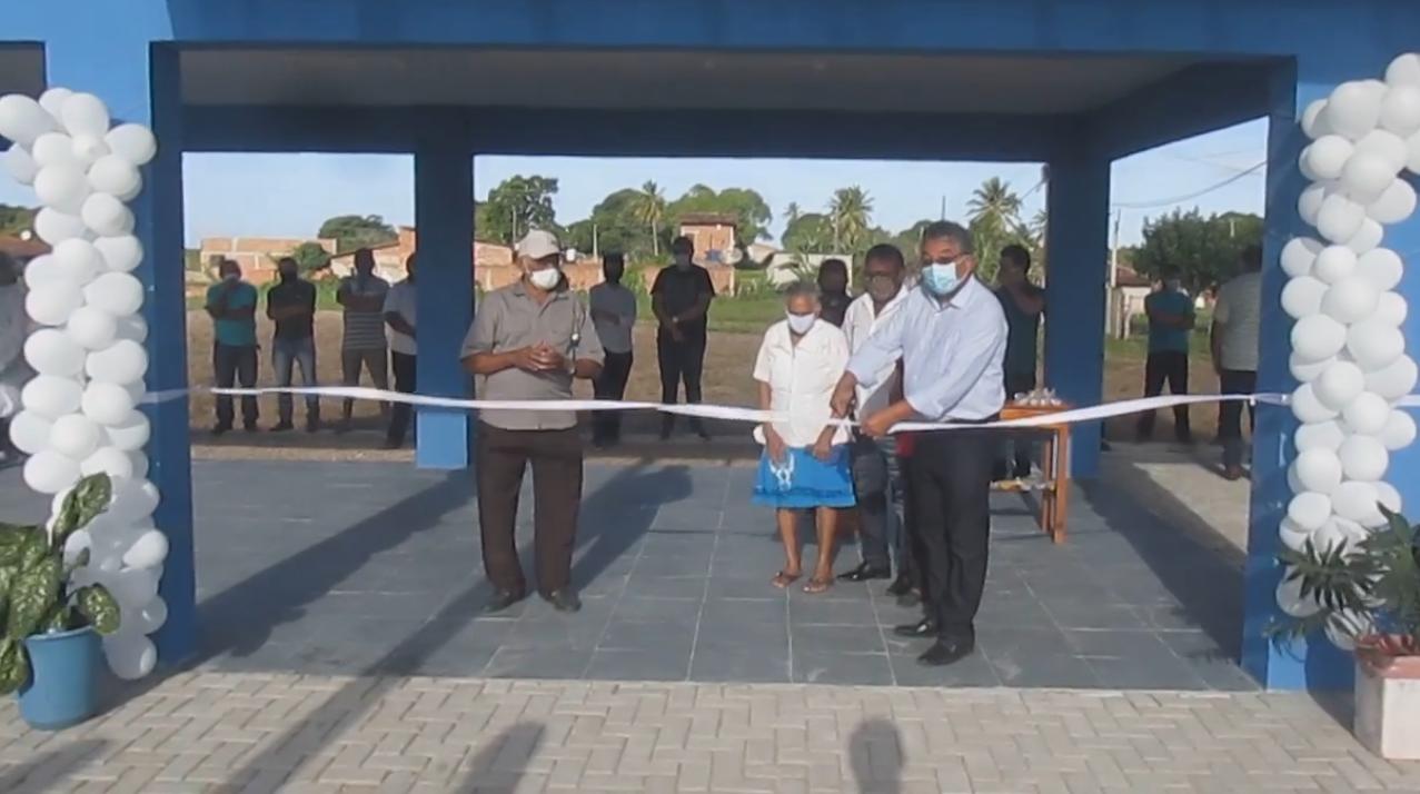Inauguração da Academia de Saúde Inês Maria da Conceição da Cruz