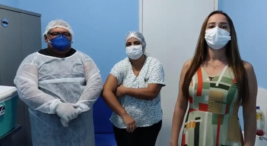 O município de Jundiá/RN inicia a campanha de vacinação