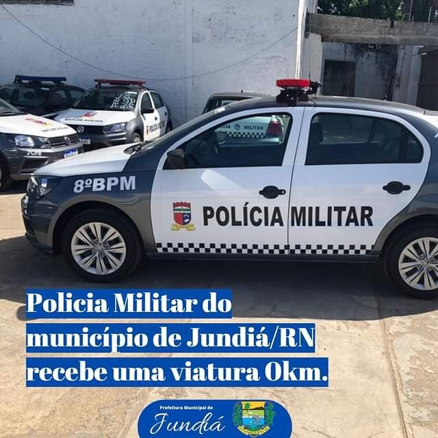 Viatura zero quilômetro para os Policiais Militares do município de Jundiá