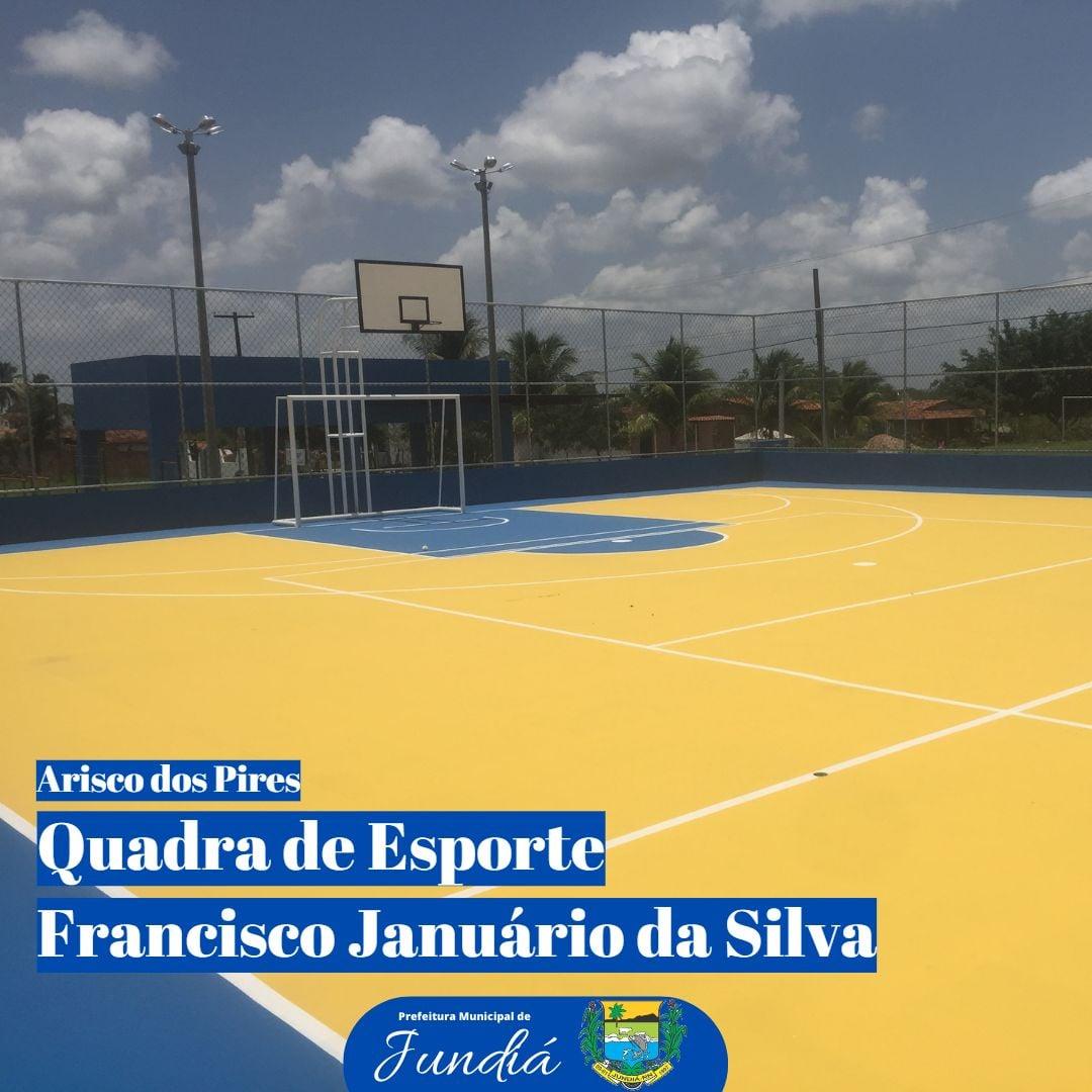 Construção da quadra de esportes na comunidade quilombola de Arisco dos Pires