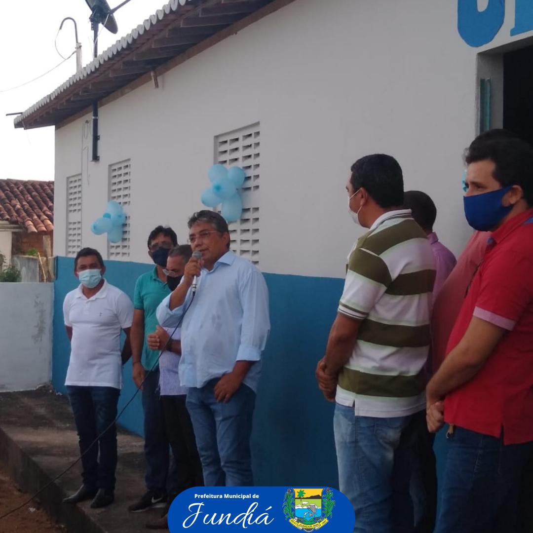 Inauguração da unidade básica de saúde da comunidade de Jundiá dos Moreira