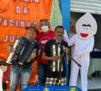 Prefeitura promove o Arraiá da Vacinação em Jundiá/RN