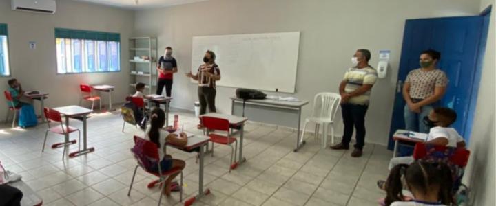Ensino público municipal de Jundiá volta as aulas presenciais