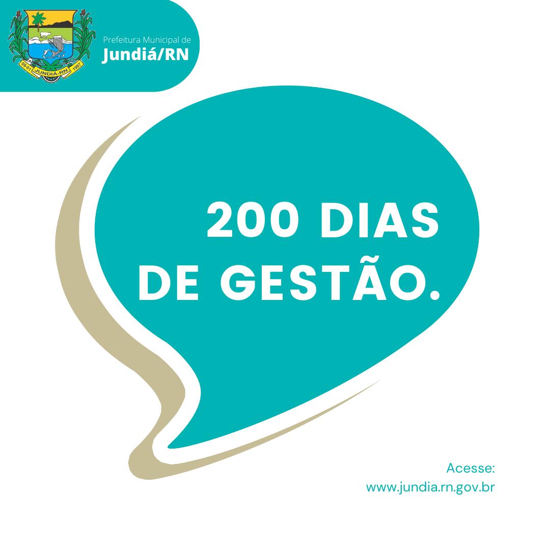 José Arnor marca 200 dias de gestão com trabalho intenso em Jundiá