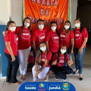 Prefeitura promove Arraiá da Vacinação no Distrito de Santa Fé