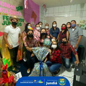 Sorteios do encerramento do Projeto: junho sem violência e sim com festejos juninos