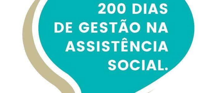 200 dias de gestão na Assistência Social com trabalho intenso em Jundiá