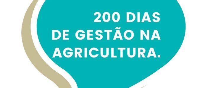 200 dias de gestão na Agricultura com trabalho intenso em Jundiá