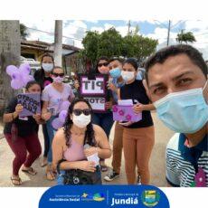 Secretaria de Assistência Social realiza 2º Pit stop em referência ao Agosto Lilás